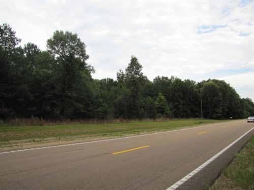 Highway 27 Hardwood And Home Site : Monticello : Lawrence County : Mississippi