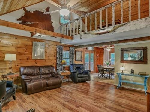 Log Cabin On 3 Acres In Rankin Coun : Brandon : Rankin County : Mississippi