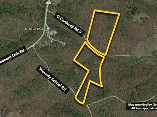 Land. Approx 39.86Ac Lot : Morgantown : Butler County : Kentucky
