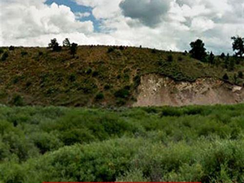 Scenic Lot In Southern Colorado : Fort Garland : Costilla County : Colorado
