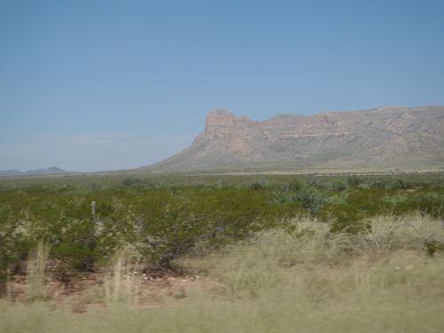 20 Acres In Sierra Blanca, TX : Sierra Blanca : Hudspeth County : Texas