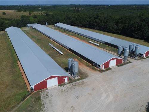 Tyson Broiler Farm Green Forest, AR : Green Forest : Carroll County : Arkansas
