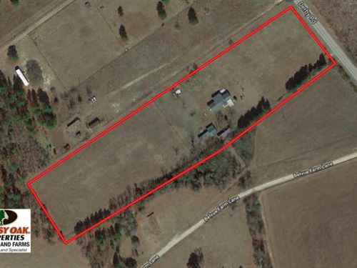 8 Acres of Residential Equine And : Hoffman : Richmond County : North Carolina