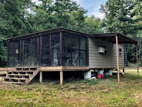 Mini Farm With Cabin : Roberta : Crawford County : Georgia