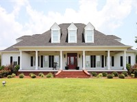 Southern Charm On 9.78 Acres : Hawkinsville : Houston County : Georgia