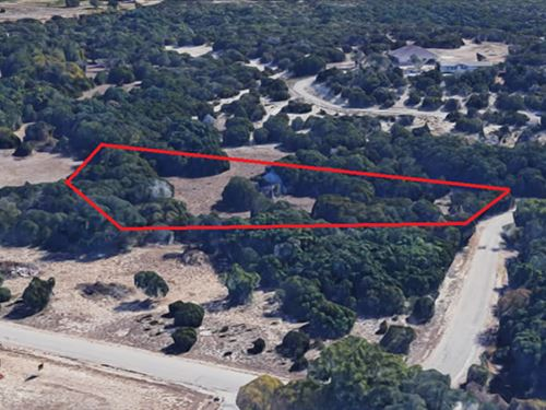 1.16 Acre Unrestricted Land Parcel : Kempner : Coryell County : Texas