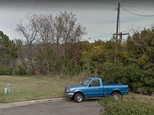Town Home Lot Near Lake Waco : Waco : McLennan County : Texas