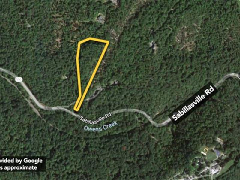Approx 5.31Ac Beautiful Wooded : Thurmont : Frederick County : Maryland