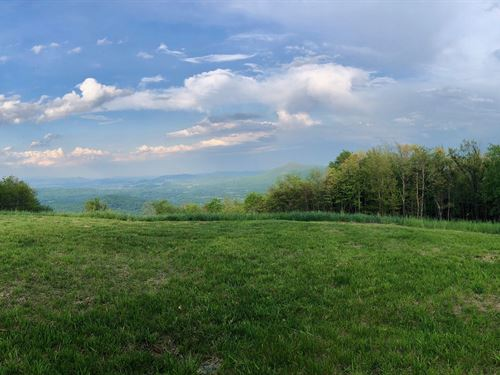 Incredible Private Views : Bent Mountain : Roanoke County : Virginia