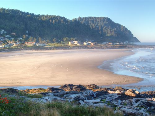 Build-Ready Land : Yachats : Lincoln County : Oregon