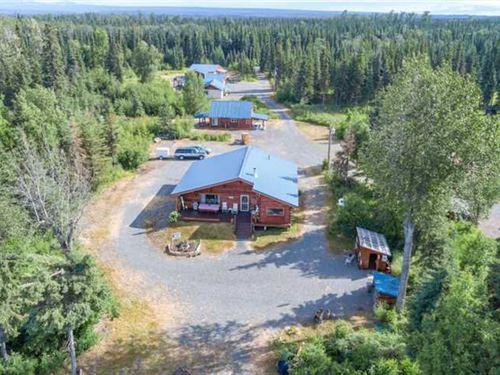 Money Maker This Beautiful Home : Soldotna : Kenai Peninsula Borough : Alaska