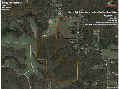 Turkey Ridge Getaway : Laquey : Pulaski County : Missouri