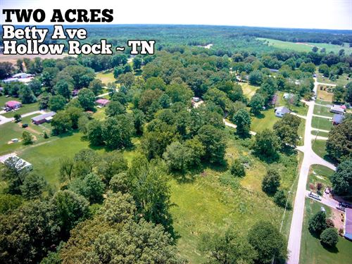 Two Acres In Hollow Rock Tn : Hollow Rock : Carroll County : Tennessee
