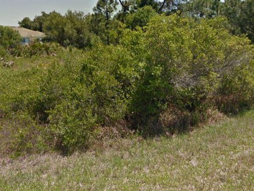 Sarasota County, Fl $13,500 Reduced : North Port : Sarasota County : Florida
