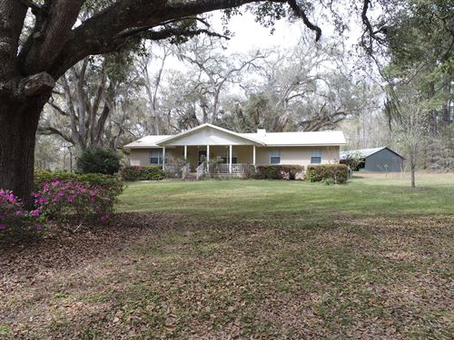 95.93 Beautiful Acres With Home : Madison : Florida
