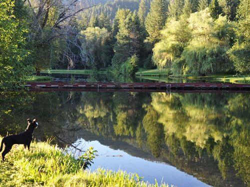 Montana Water Oasis : Noxon : Sanders County : Montana