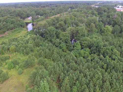 Developmental Waterfront Property : Washington : Beaufort County : North Carolina