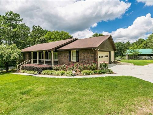 3 Acre Hobby Farm & Brick Ranch : Loganville : Walton County : Georgia