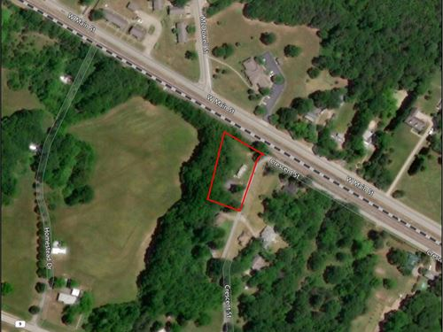 1+/-Ac Mobile Home Lot W/ Building : Pacolet : Spartanburg County : South Carolina