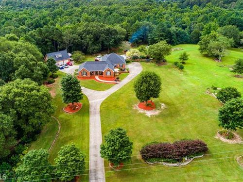 Beautiful 5 Acre Estate Home : Monroe : Walton County : Georgia