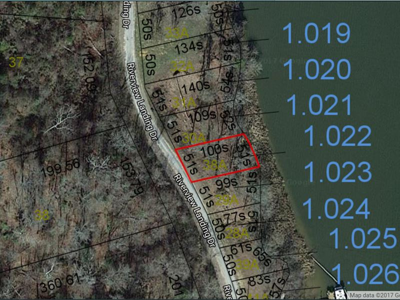 2.82 Acres Great River View & Water : Camden : Wilcox County : Alabama