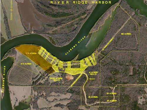 47.5 Acres-East-River Ridge Harbor : Montgomery : Alabama