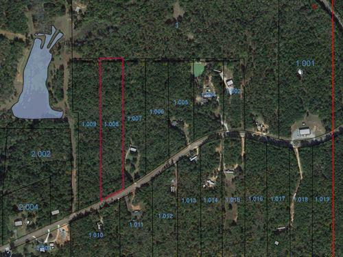Lot 12 Grass Farm Road : Wetumpka : Elmore County : Alabama