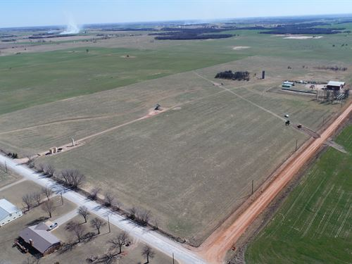Cropland & Irrigation Wells 152 Ac : Dover : Kingfisher County : Oklahoma