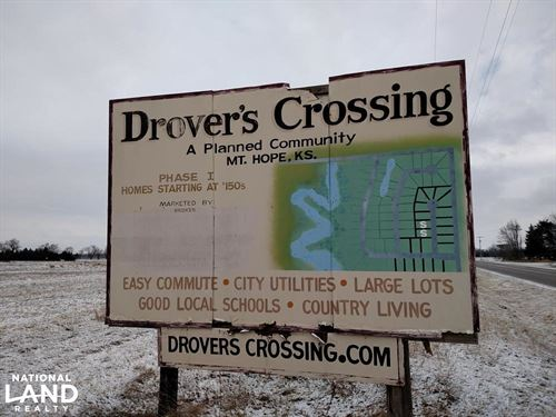 Drovers Crossing Subdivision : Mount Hope : Sedgwick County : Kansas
