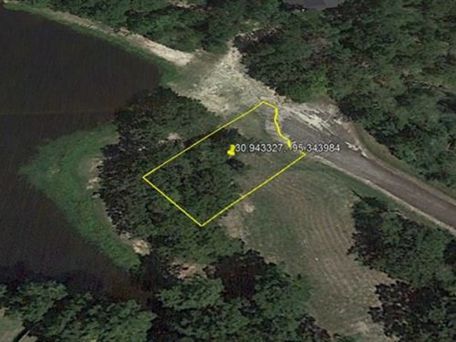 Residential Lake Lot In Westwood : Trinity : Texas