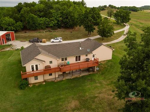 Updated Home on 53 Acres in Montgo : Independence : Montgomery County : Kansas