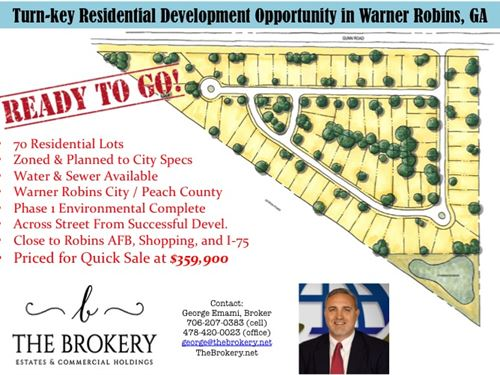 Amazing Investment Opportunity : Warner Robins : Peach County : Georgia