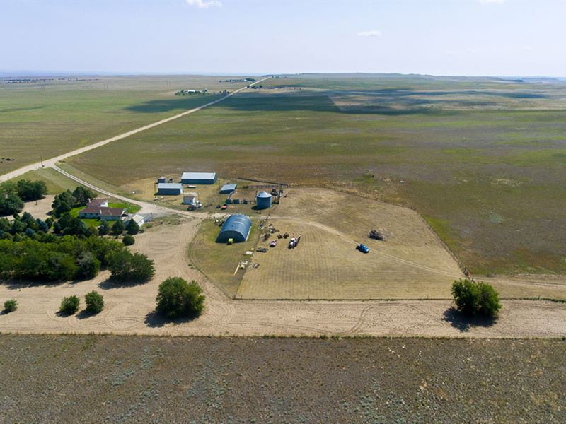 Pontarolo Farm & Ranch : Lingle : Goshen County : Wyoming