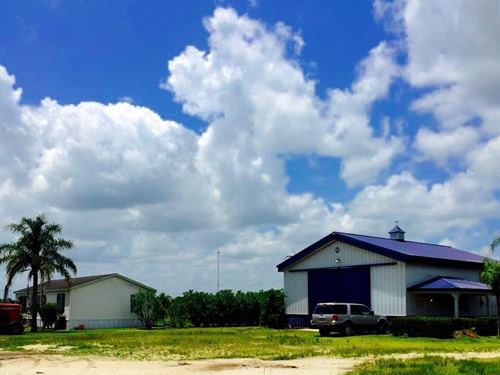 70 Acre Farm With Home And Shop : Fort Pierce : St. Lucie County : Florida