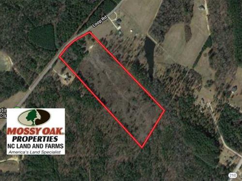 23 Acres of Residential And Recrea : Bunnlevel : Harnett County : North Carolina