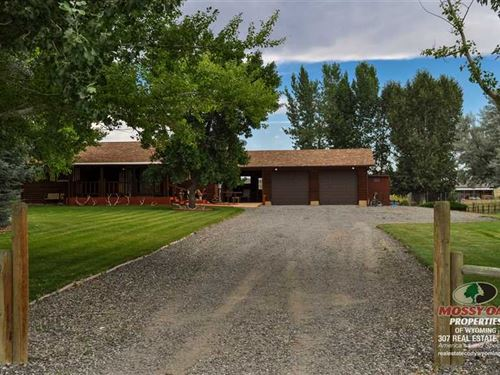 Two Bedroom, One Bath Home on 2.58 : Cody : Park County : Wyoming
