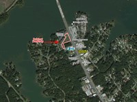 Lake View Commercial Lot For Sale : Milledgeville : Baldwin County : Georgia