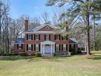 Classic Beauty On 13 Acres : Forsyth : Monroe County : Georgia