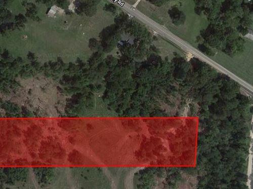 3.63 Acre Unrestricted Land : Huntsville Isd : Walker County : Texas
