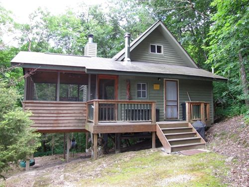 Boscobel Getaway Cabin 24+/- Acres : Boscobel : Grant County : Wisconsin