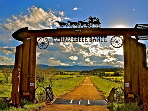 Indian Creek Ranch : La Veta : Huerfano County : Colorado