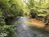 Beautiful Riverfront Timberland : Westminster : Oconee County : South Carolina