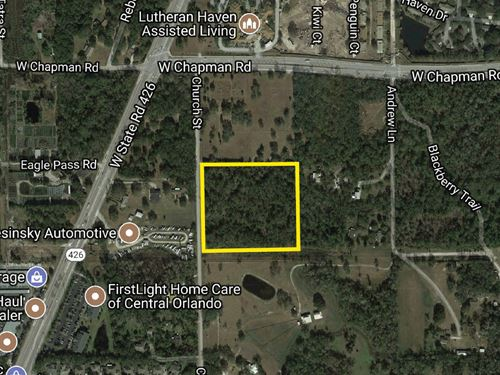 Single Family Development Site : Oviedo : Seminole County : Florida