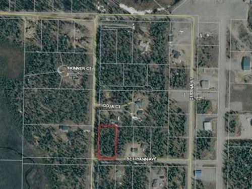 Level Treed Corner Lot Close to to : Nikiski/North Kenai : Kenai Peninsula Borough : Alaska