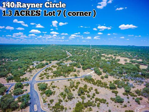 1.30 Acres In Comal County : Spring Branch : Comal County : Texas