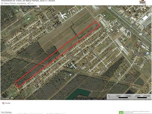 Waveland Dr Tract, St Mary Parish : Patterson : Saint Mary Parish : Louisiana