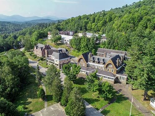 63 Acre Redevelopment Site in : Saranac Lake : Essex County : New York