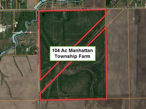 104 Ac Manhattan Township : Manhattan : Will County : Illinois