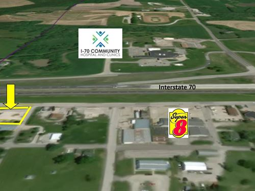 Absolute Auction Commercial Land : Sweet Springs : Saline County : Missouri