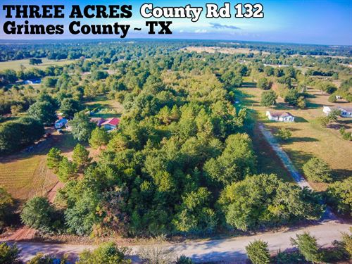 3 Acres In Grimes County : Bedias : Grimes County : Texas